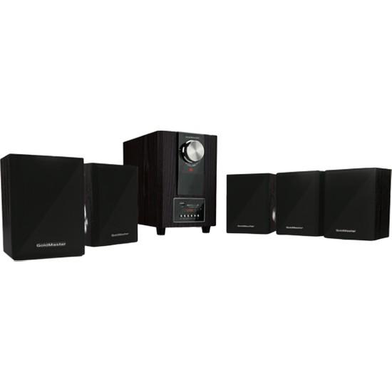 Home-61 Bluetooth Radyolu 5+1 Ses Sistemi