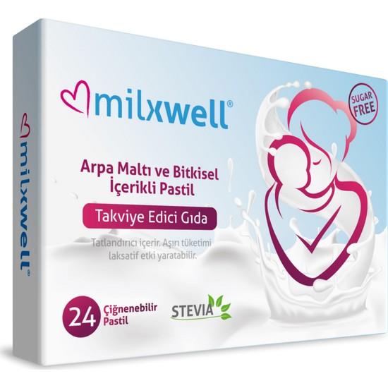 Mothersmart Milxwell Anne Sütü Arttırıcı Çiğnenebilir Pastil 24'lü