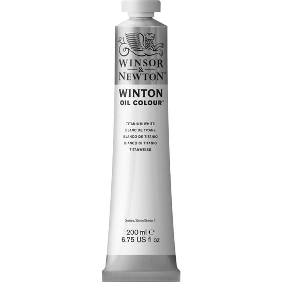 Winsor & Newton 644 40 Winton Yağlı Boya Titanium White 200 ml