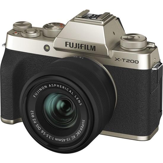 Fujifilm X-T200 Altın + Xc 15-45 Lens Kit