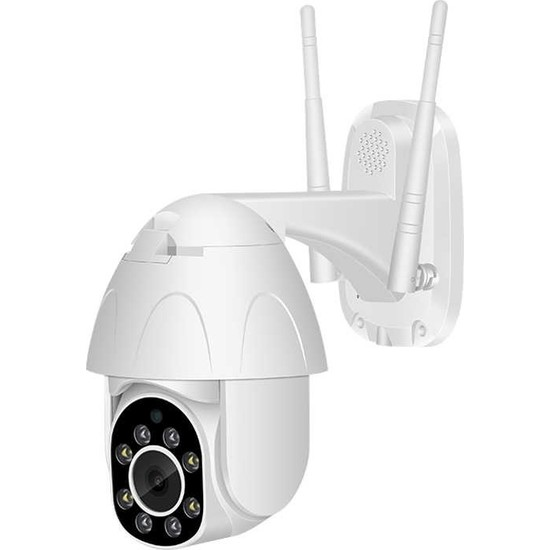Kingboss +1080P Speed Dome PTZ 2MP Dış Mekan IP Kamera