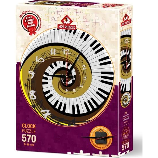 Art Puzzle Zamanın Ritmi 570 Parça Saat Puzzle