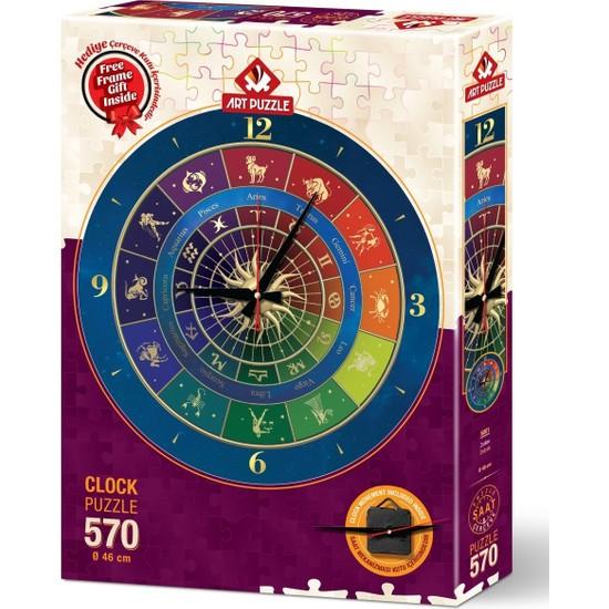 Art Puzzle Zodyak 570 Parça Saat Puzzle