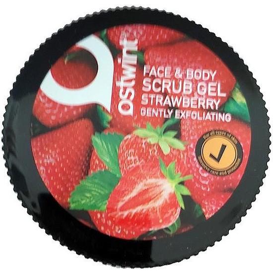 Ostwint Face Body Scrub Jel Çilek 300 ml