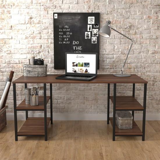 Wood House Lemontia Çalışma Masası Ceviz