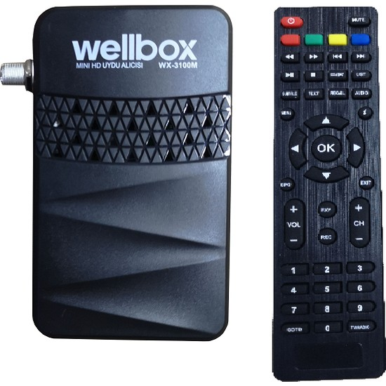 Wellbox WX-3100M Mini Hd Uydu Alıcısı