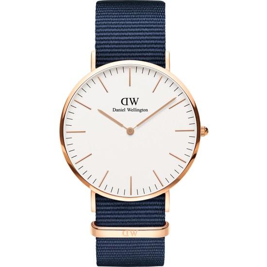 Daniel Wellington Classic 40 Bayswater RG White Erkek Kol Saati DW00600275