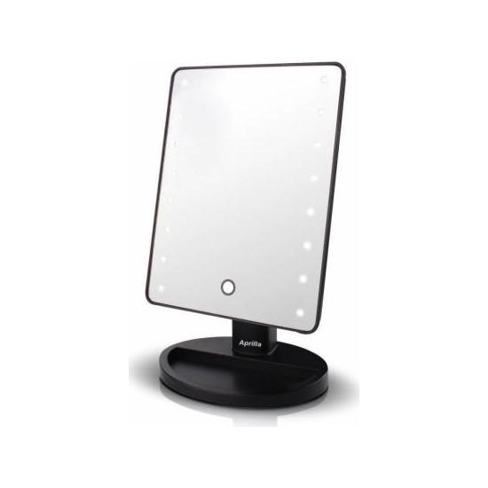 Aprilla Alm 9905 LED Isıklı Makyaj Aynası Siyah