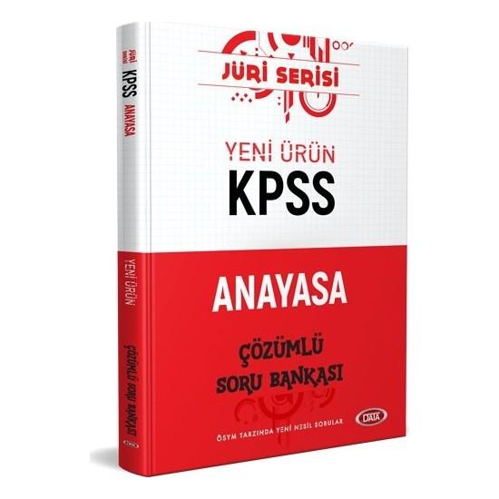 Data Yayınları KPSS Anayasa Jüri Çözümlü Soru Bankası