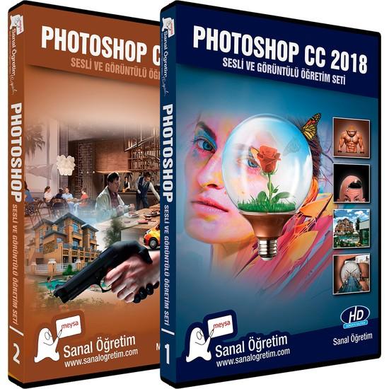 Sanal Öğretim Photoshop cc 2018 Video Eğitim Seti