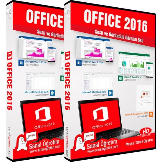 Sanal Öğretim Office 2016 Video Eğitim Seti