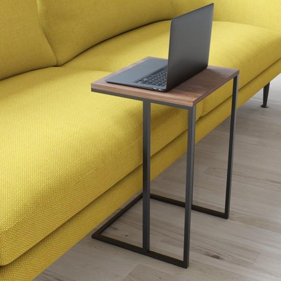 Wood House Mia Laptop Sehpası Ceviz