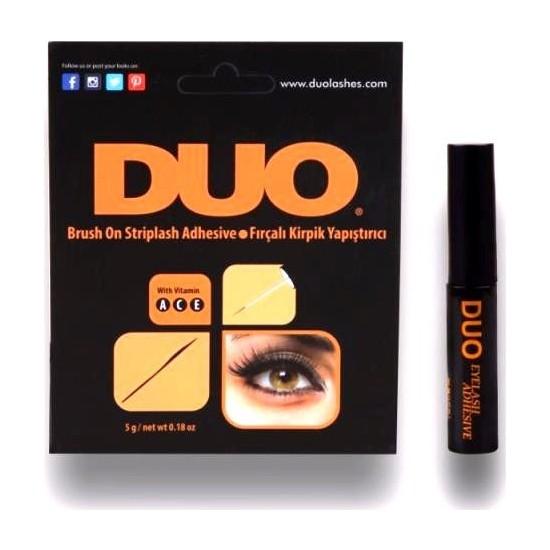Duo Siyah Takma Kirpik Yapıştırıcısı Fırçalı 5 gr