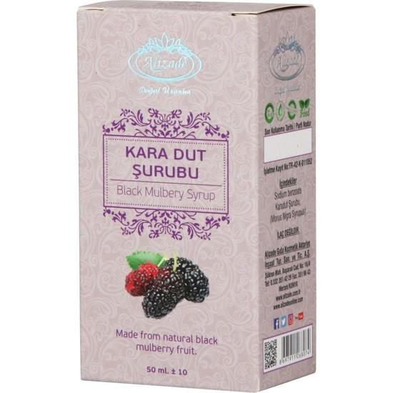Alizade Karadut Şurubu 50 ml