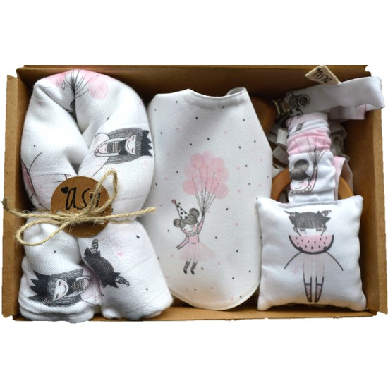 Asu Baby&Kids Fairy Müslinli Bebek Kiti