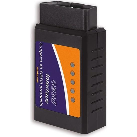 Oto Eko Elm327 v1.5 Bluetooth Araç Arıza Tespit Cihazı Türkçe Pic18f25k80 Elm 327