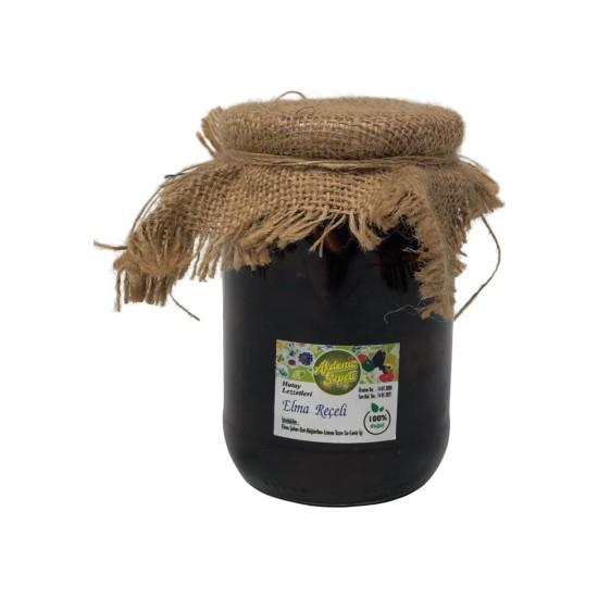 Akdeniz Sepeti Hatay'dan El Yapımı Doğal Elma Reçeli 660 gr