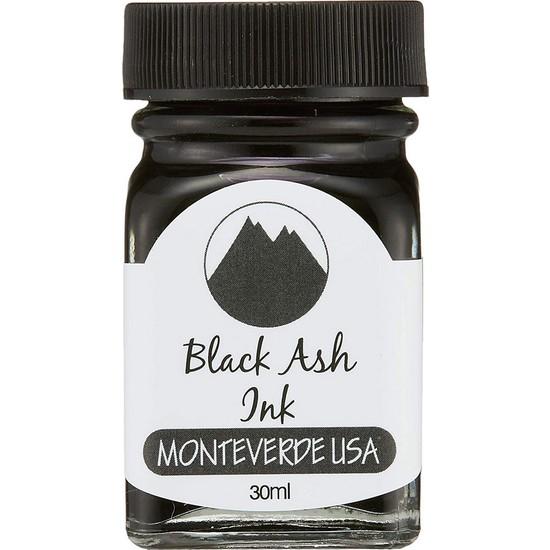 Monteverde G309BA Şişe Mürekkep 30 ml Black Ash