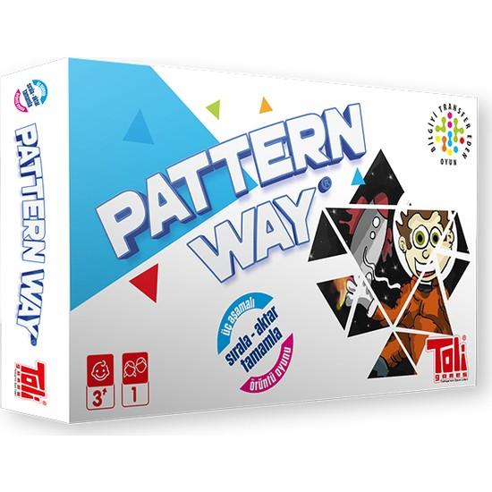 Toli Games Pattern Way Ahşap Üçgen Zeka Oyunu