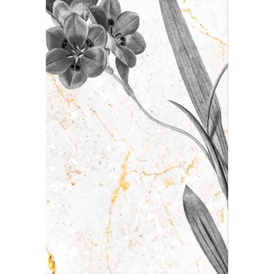 Soley Yaprak Mermer Djt 40 x 60 cm Banyo Paspası 0542 01