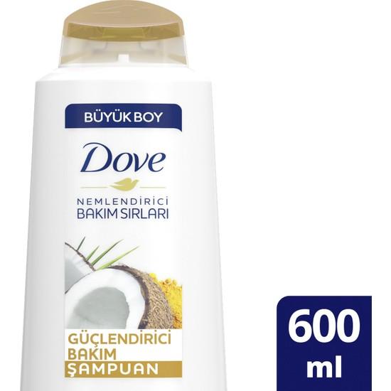 Dove Hindistan Cevizi Yağı ve Badem Sütü Özlü Şampuan 600 ml