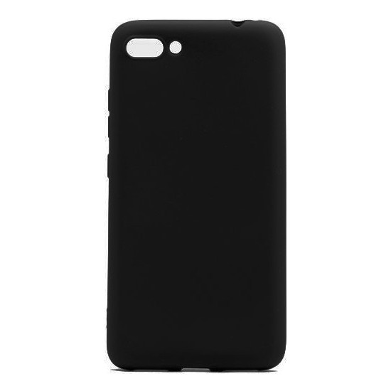 Herdem Asus ZenFone 4 Max (ZC554KL) Kılıf Ultra Lüx Soft Mat Silikon Siyah