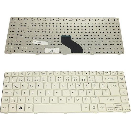 Tochi Acer Aspire 4410 Acer Aspire 3810T Notebook Tuş Takımı