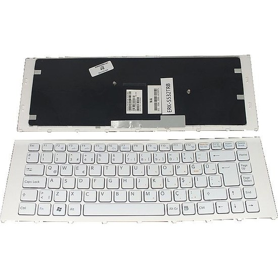 Tochi Sony V081630B Sony V081630AS1 Notebook Tuş Takımı