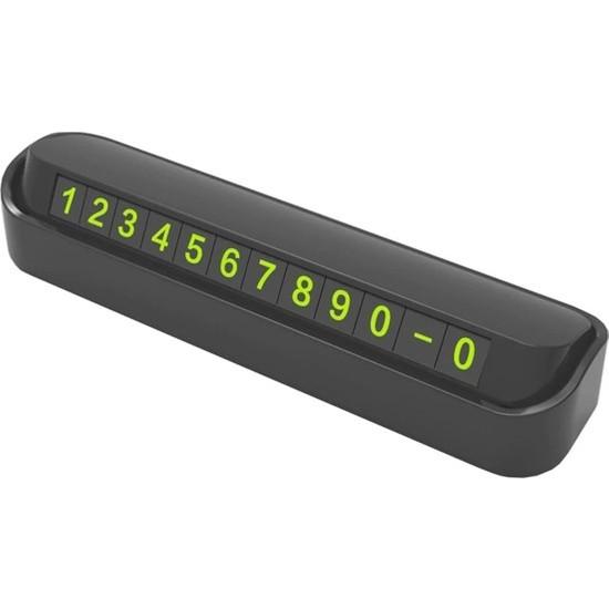 Linkage Araç Park Numaratör Parkmatik Telefon Açkapa Sistemi Lkn-01 Siyah