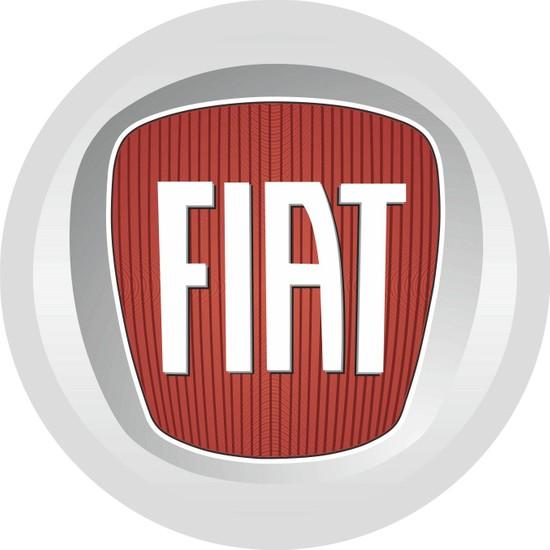 Sticker Fabrikası Fiat Logo Arma Sticker 00010