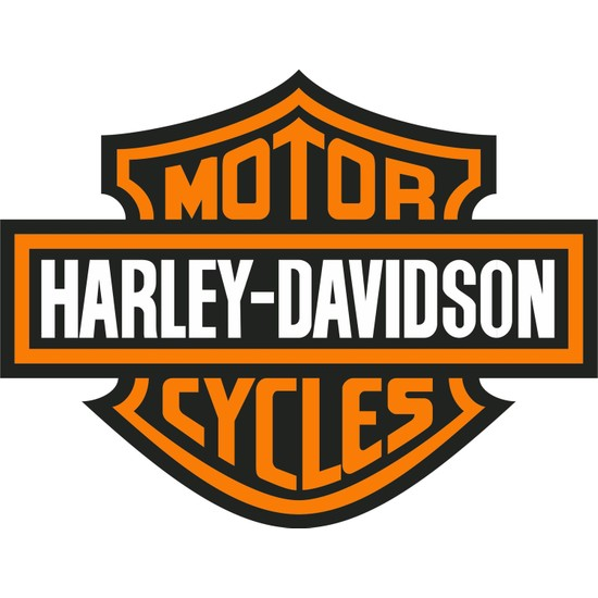 Sticker Fabrikası Harley Davidson Logo Sticker 00019