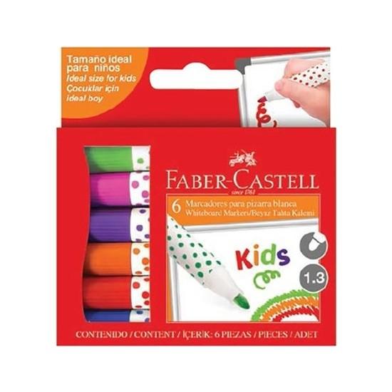 Faber-Castell Kids Beyaz Tahta Kalemi 6'lı