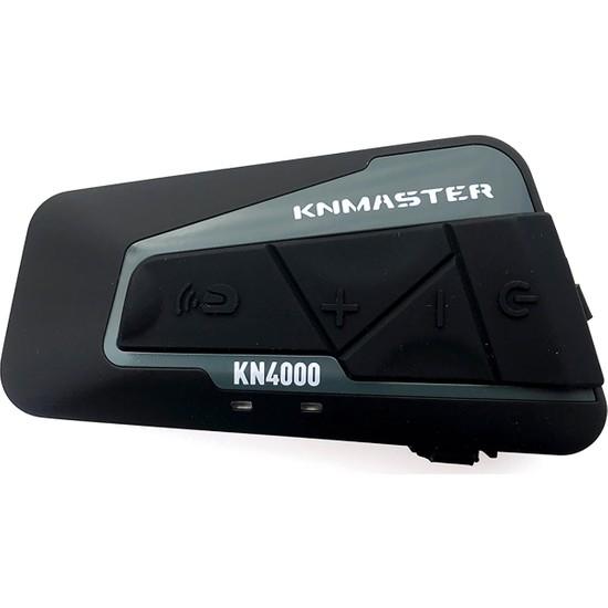 Knmaster Kask Bluetooth İnterkom Kn4000 / Çiftli / 1800M. / Radyo