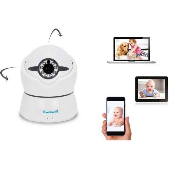 Weewell WMV920 Uni-Viewer Pro Silver Bebek Kamerası