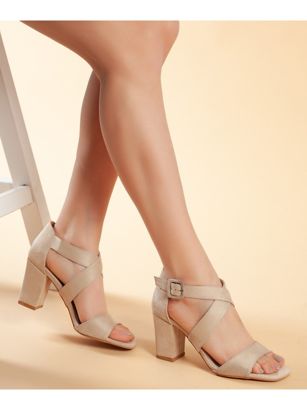 Daxtors D208 Kadın Günlük Klasik Topuklu Ayakkabı 36