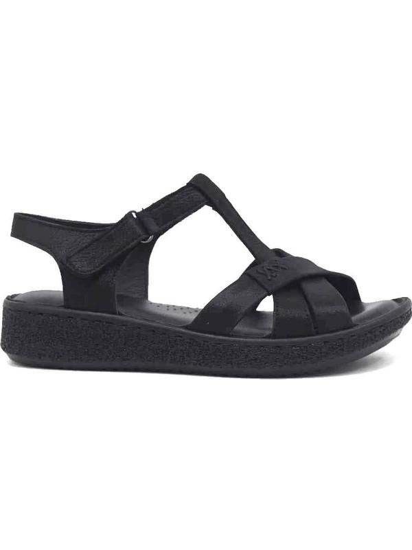 Marine Shoes Deri Kadın Sandalet 20Y-099-100 37