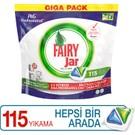 Fairy Professional 115 Yıkama Hepsi Bir Arada Bulaşık Makinesi Deterjanı Kapsülü PGP