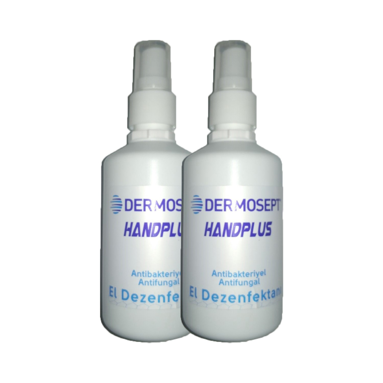 dermosept handplus antibakteriyel el dezenfektani sprey 100 ml 2 li set