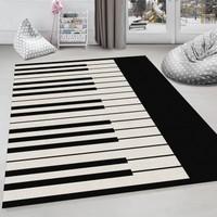Halıforum Dekoratif Çocuk Odası Halısı Piano Hp-744 40 x 60 Cm