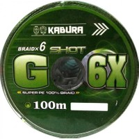 Kabura G-6x Super Pe Braid 6 Örgü 0,35 mm 100MT.