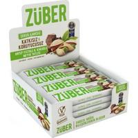 Züber Antep Fıstıklı Ve Çikolatalı Doğal Meyve Tatlısı 12 Adet x 40 gr