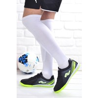 Jump 25356 Halı Saha Erkek Çocuk Futbol Ayakkabı Siyah
