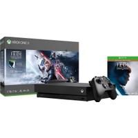 Microsoft Xbox One x + Star Wars Jedi Fallen Order Deluxe Edition