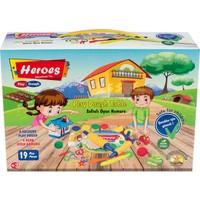 Heroes Pizza Kalıplı Oyun Hamuru Seti