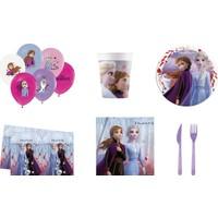 Kullan At Party Frozen Doğum Günü Seti 8 Kişilik