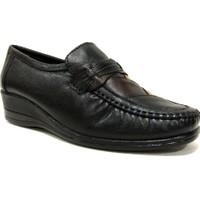 Filik 105 Siyah Kahverengi Comfort Kadın Ayakkabı