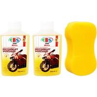 Çbs 2 Adet Cilalı Motosiklet Şampuanı Sünger Seti 428428