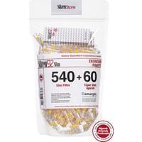 Süzen92 540 Slim Sigara Filtresi Ağızlık + 60 Ultra Slim Adaptör Ekonomik Paket + 2 Adet 10'lu Taşıma Kutusu Hediye