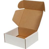 Kolici Beyaz E-Ticaret Kargo Kutusu 12 x 10 x 4,5 cm 25'li