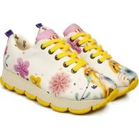 Goby Anouk Z Beyaz Kadın Spor Ayakkabı